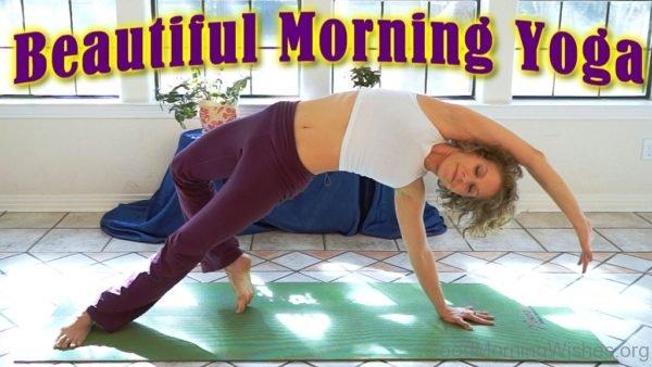 Beautiful Morning Yoga Pic