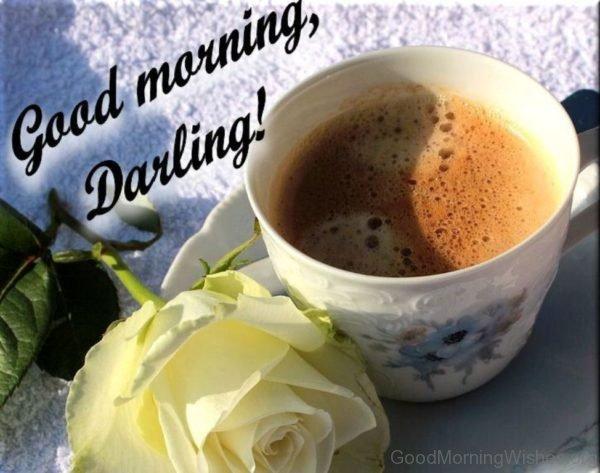 Beautiful Pic Of Good Morning Darling