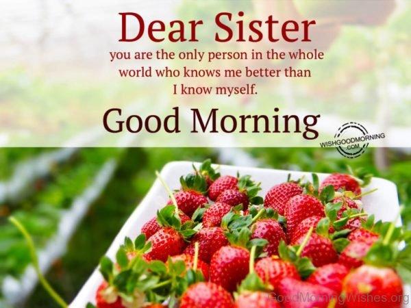 Beautiful Pic Of Good Morning Sister