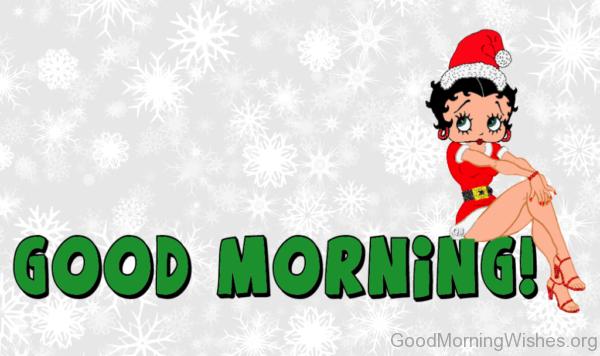Betty Boop Good Morning Photo
