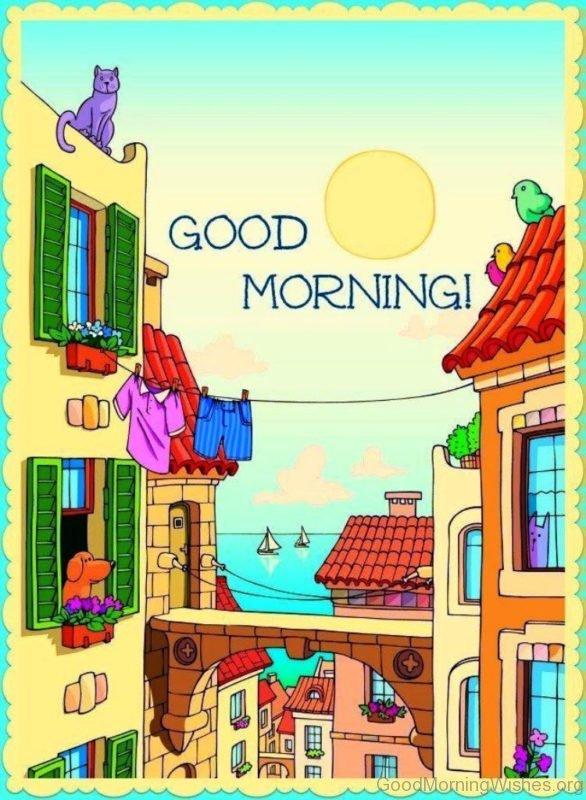 Cartoon Good Morning Pic