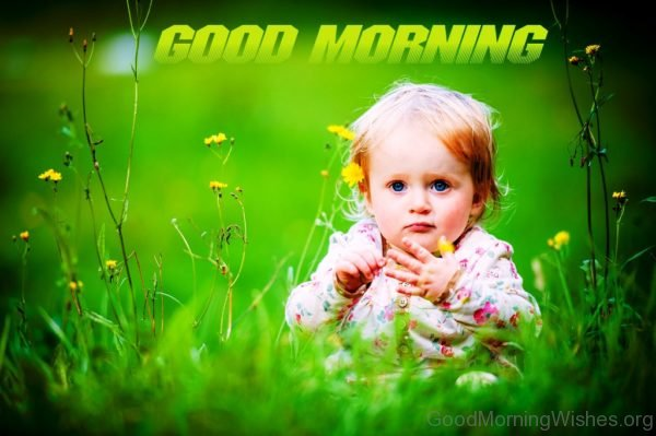 Cute Image Of Good Morning