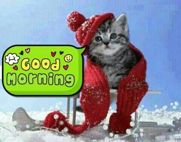 Cute Winter Good Morning Quote
