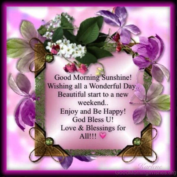 Enjoy And Be Happy God Bless U