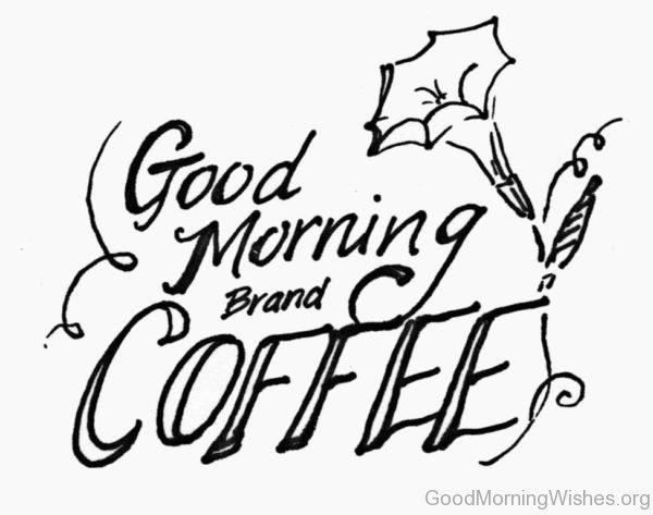 Good Morning Brand Coffee