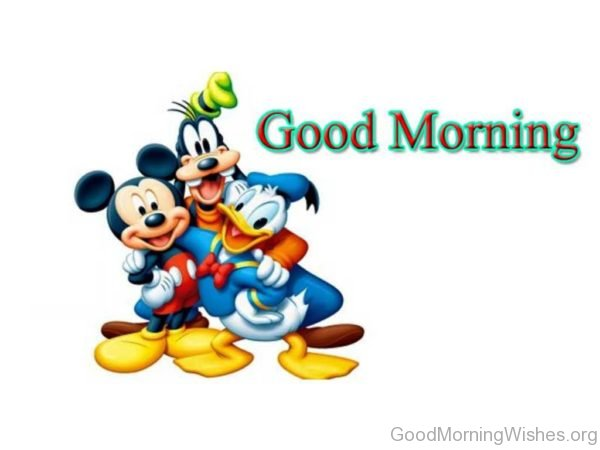 Good Morning Cartoons Image
