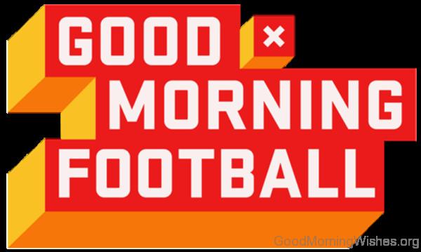 Good Morning Football Logo Pic