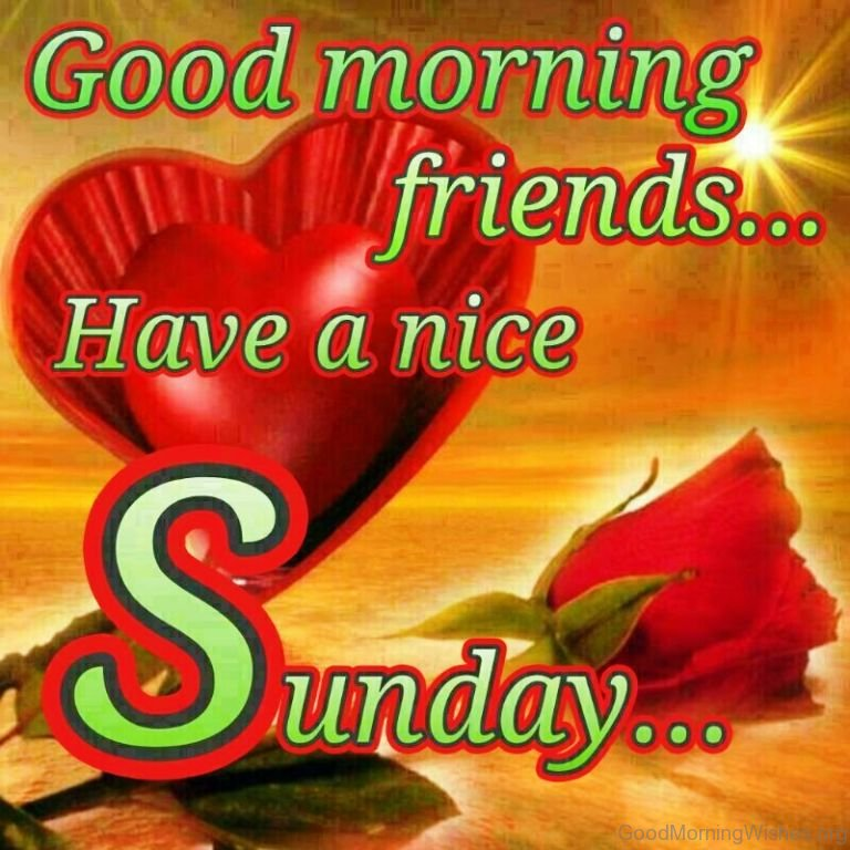 Good Morning Sunday Pick : Sunday good morning wishes