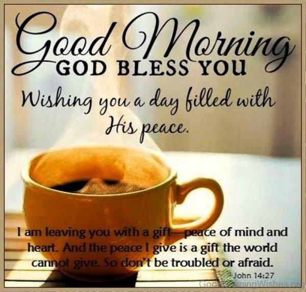 Good Morning God Bless You 1