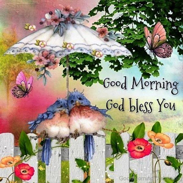 Good Morning God Bless You Image 1