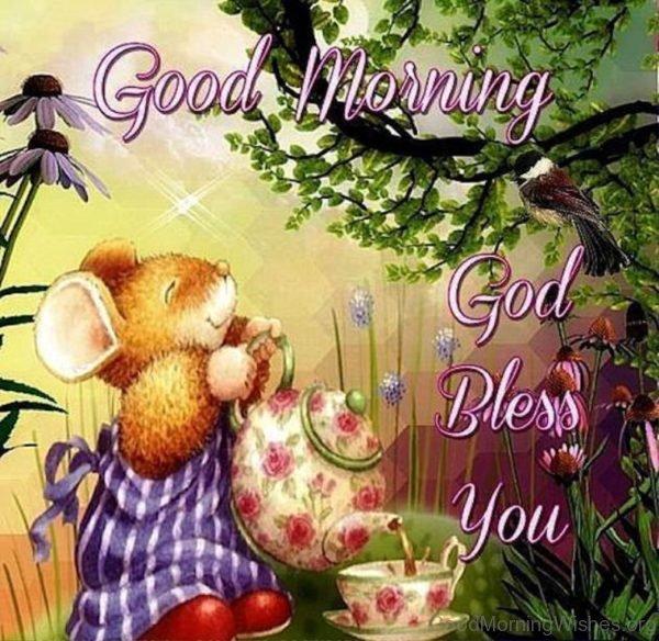 Good Morning God Bless You Image