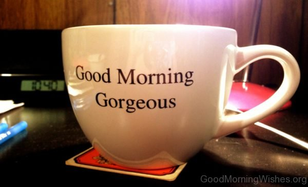 Good Morning Beautiful Woman In Italian : Good morning gorgeous mug