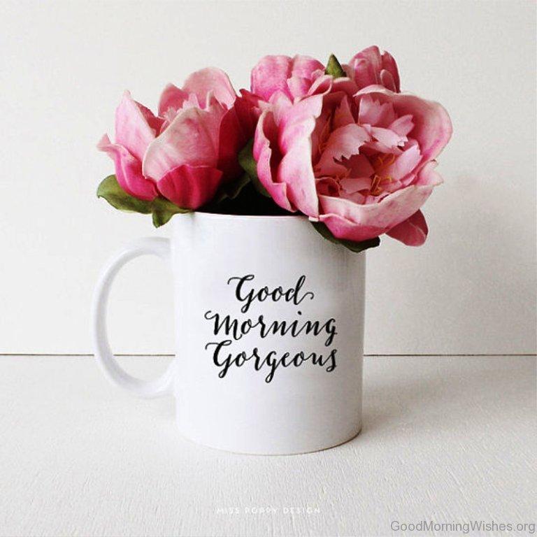 Good Morning Gorgeous French : Good morning gorgeous mug