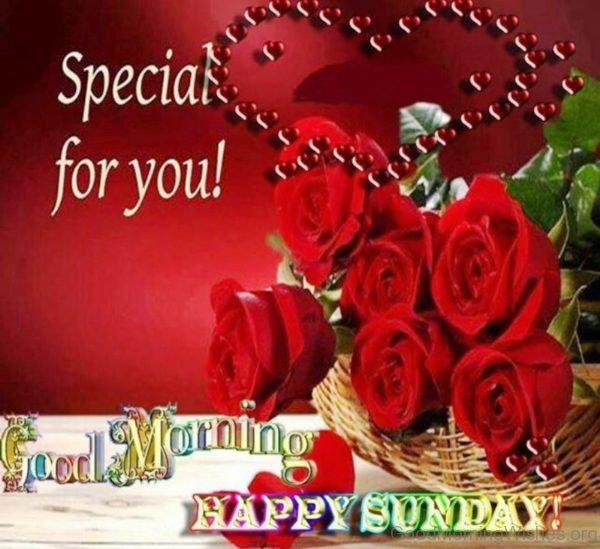 Good Morning And Happy Sunday Love Message : Special good morning wishes