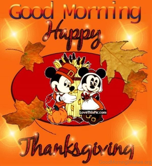 Good Morning Happy Thanksgiving Image