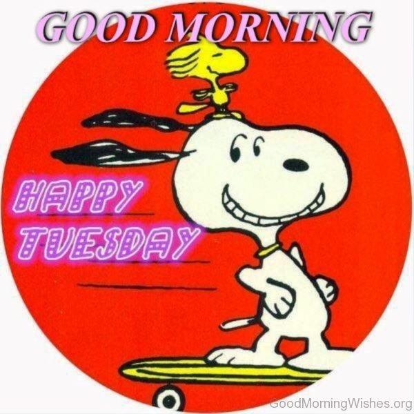 Good Morning Happy Tuesday 1