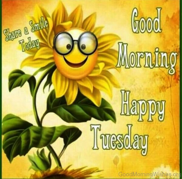 Good Morning Happy Tuesday 2