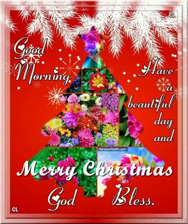 Good Morning Have A Beautiful Day And Merry Christmas