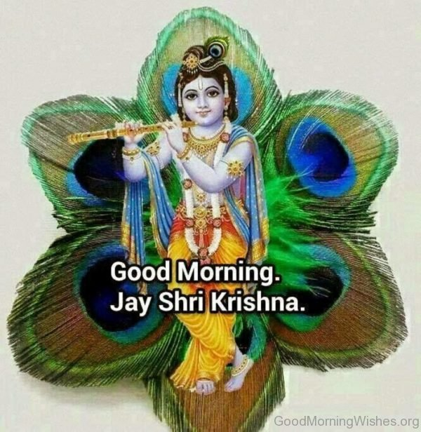 Good Morning Jay Shri Krishna