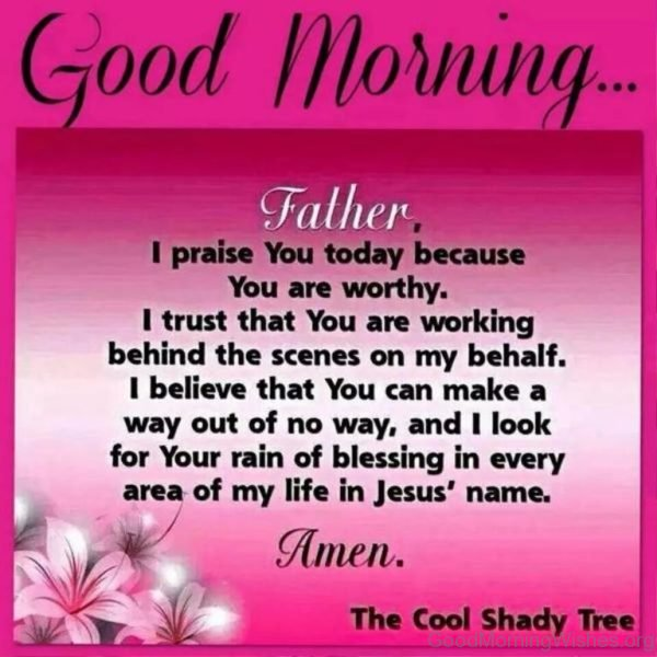 9 Good Morning Pictures of Lord Jesus