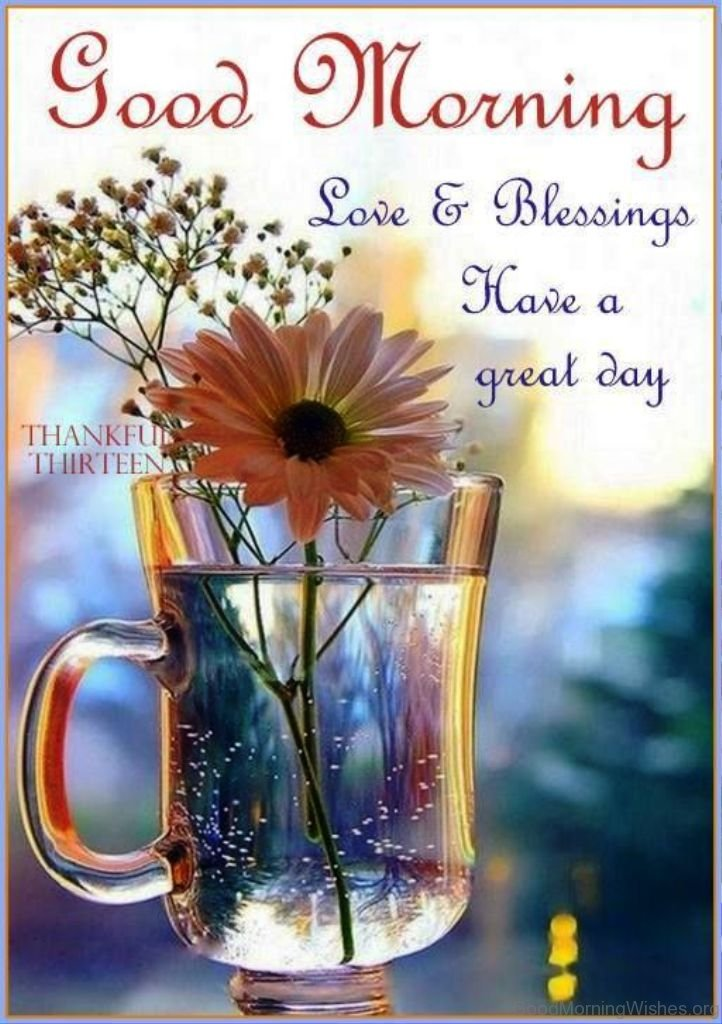 Good Morning Love Blessings : Good morning wishes with blessings