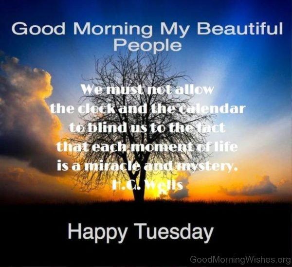 Good Morning My Beautiful People