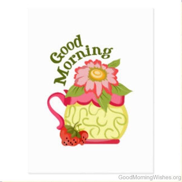 Good Morning Nice Postcard