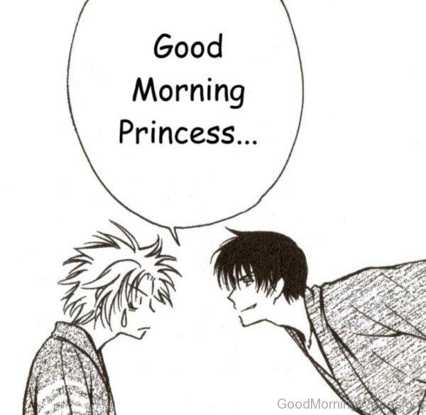 Good Morning Princess Pic