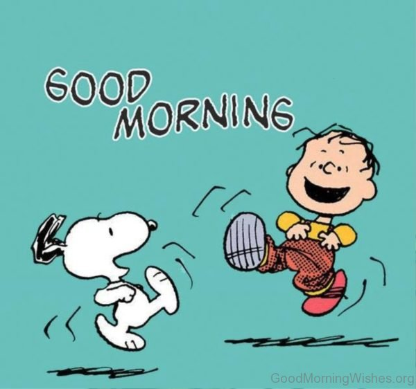 Good Morning Snoopy