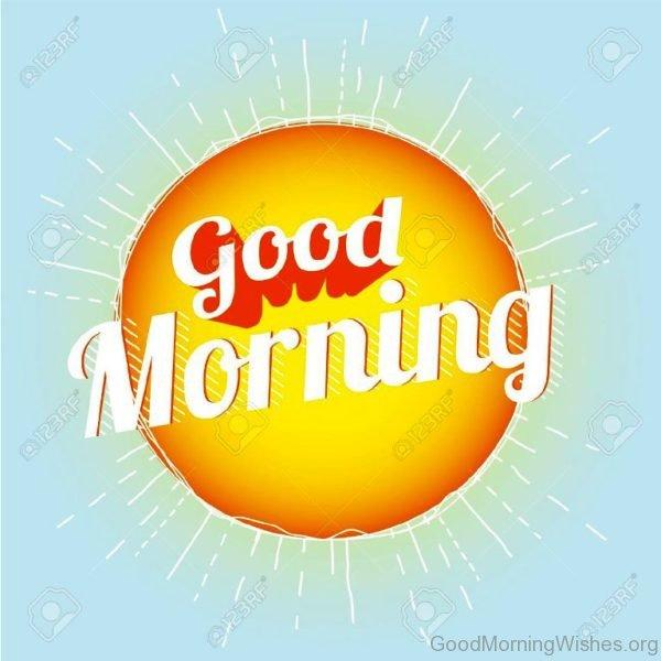 Good Morning Sunshine Clipart 1