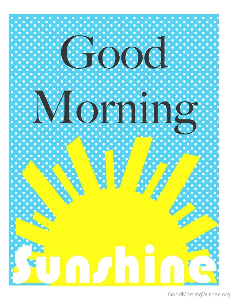 Good Morning Sunshine Animated : Clip art good morning wishes