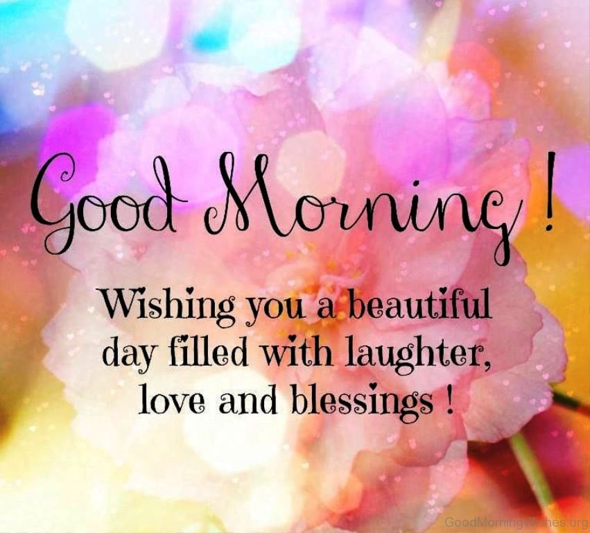 Beautiful Quote For The Day: Love Good Morning Wish Pic