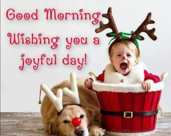 Good Morning Wishing You A Joyful Day