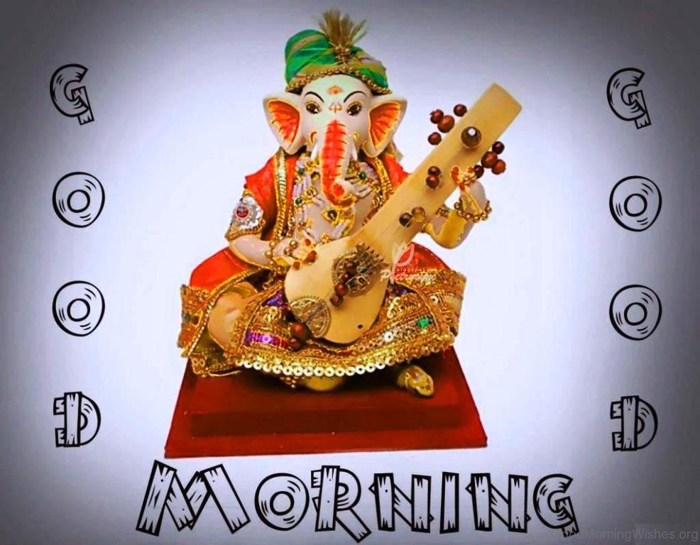Good Morning With Lord Ganesha