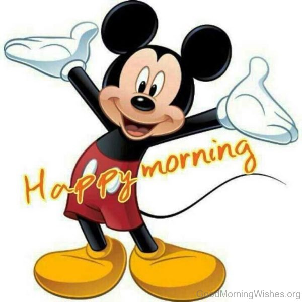 Good Morning With Mickey