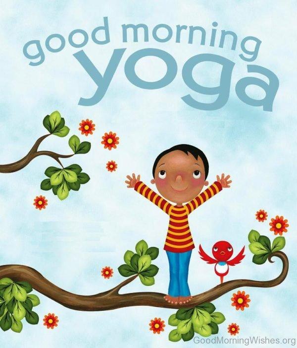 Good Morning Yoga Image