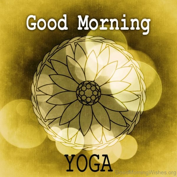 Good Morning Yoga Pic