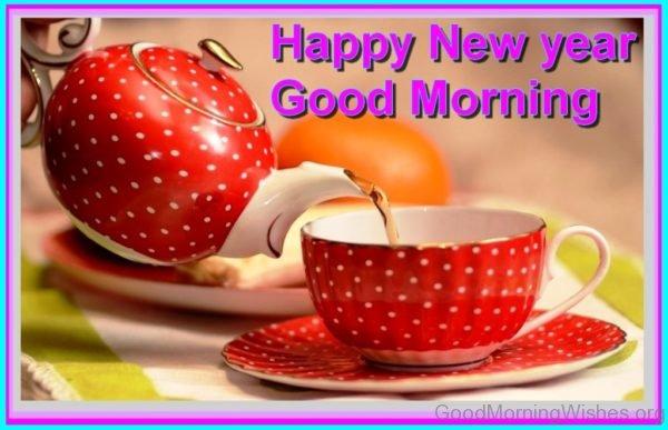 Happy New Year Good Morning
