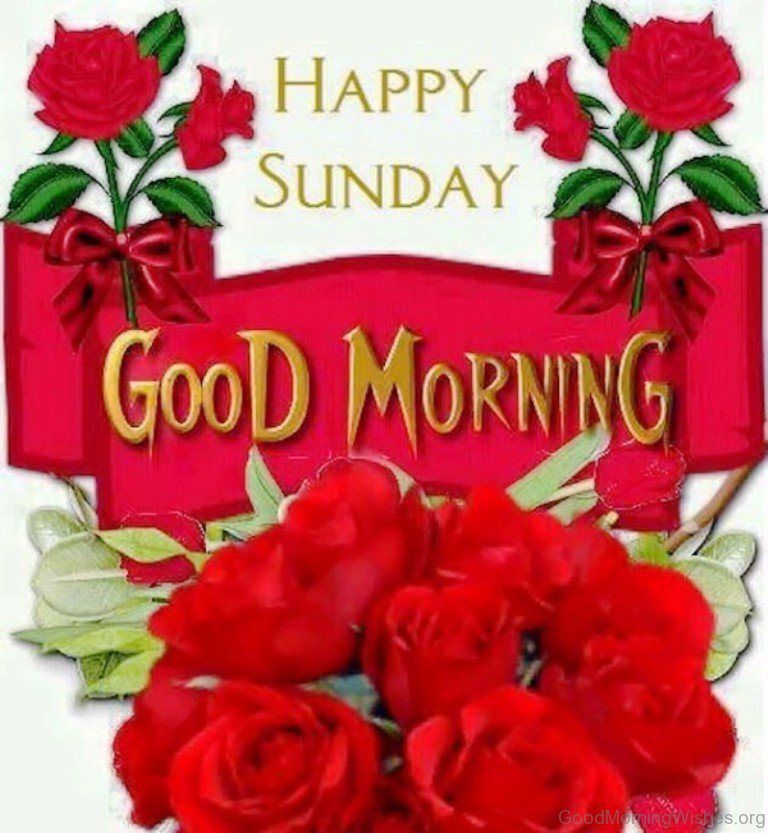 Good Morning And Happy Sunday Quotes : Sunday good morning wishes