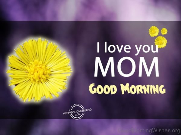 I Love You Mom Good Morning