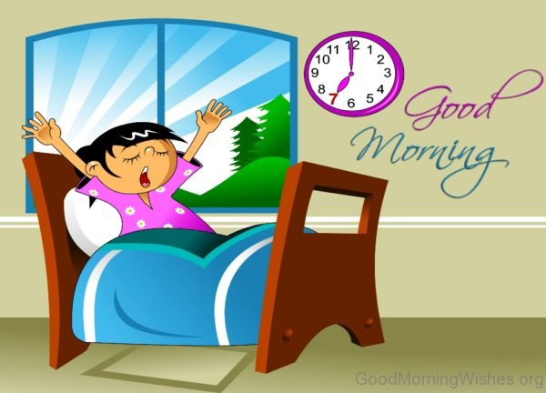Image Of Good Morning Cartoon