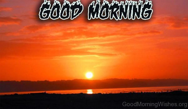 Image Of Good Morning Sunrise
