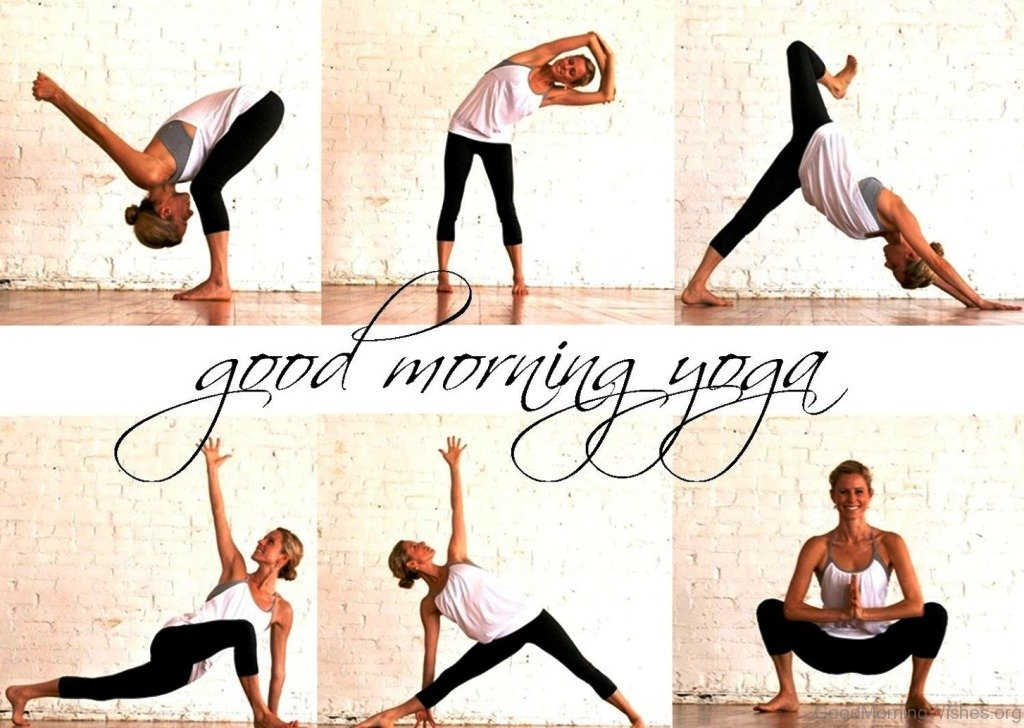 """yoga good morning """"yoga is for people in good physical condition  the patient had been in excellent health, practicing yoga every morning for a year and a half."""