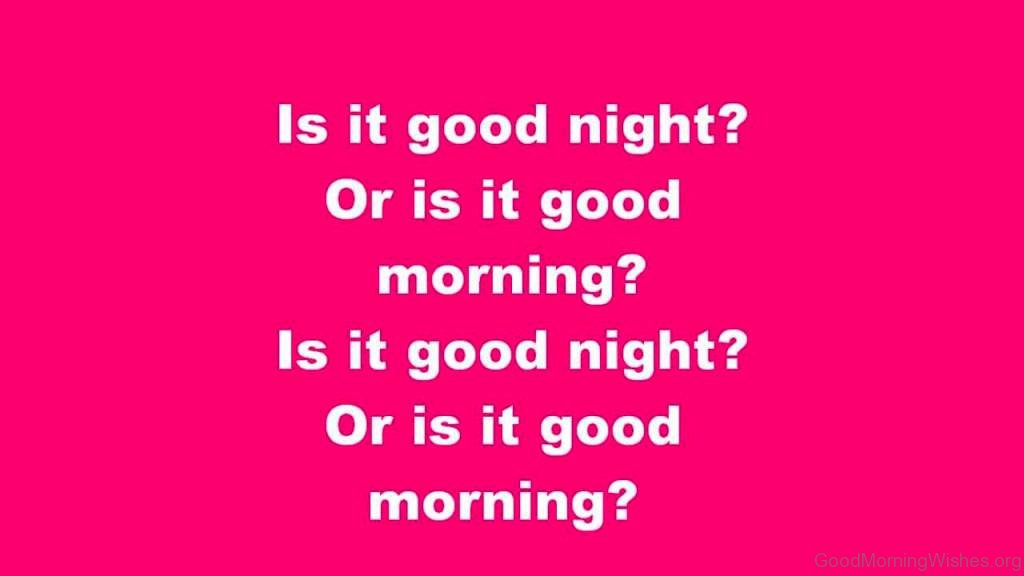 Good Morning And Goodnight In French : Good morning and night wishes