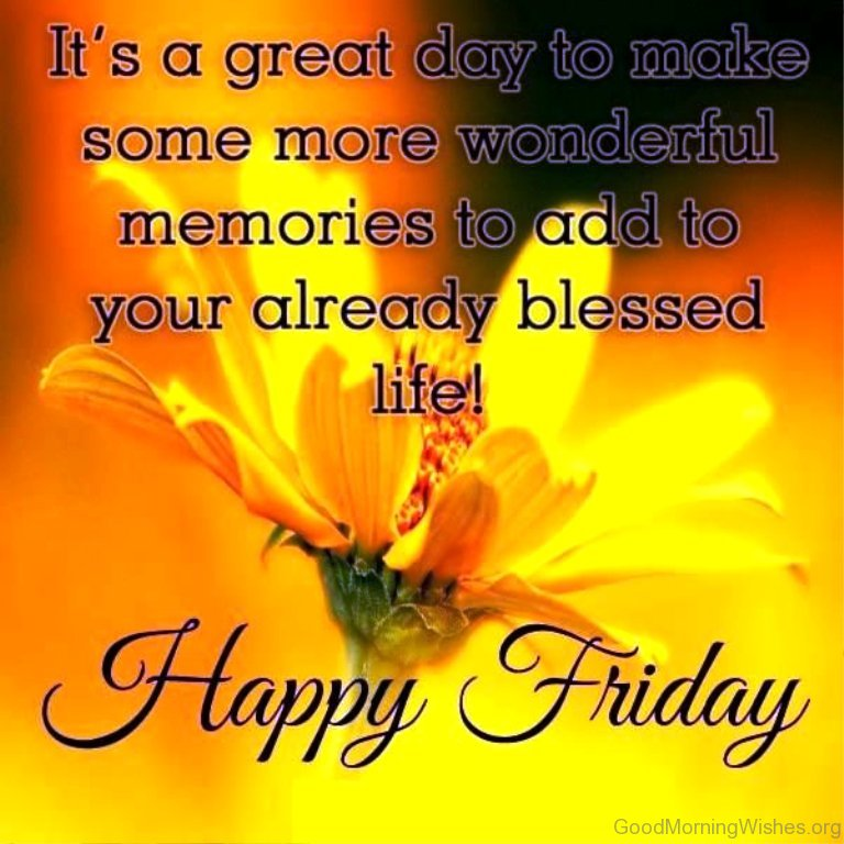 40 Good Morning Beautiful Friday Adorable Friday Morning Quotes