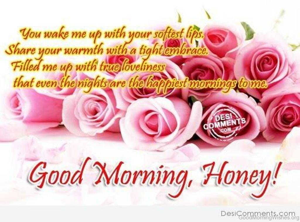 8 Good Morning Wishes Honey