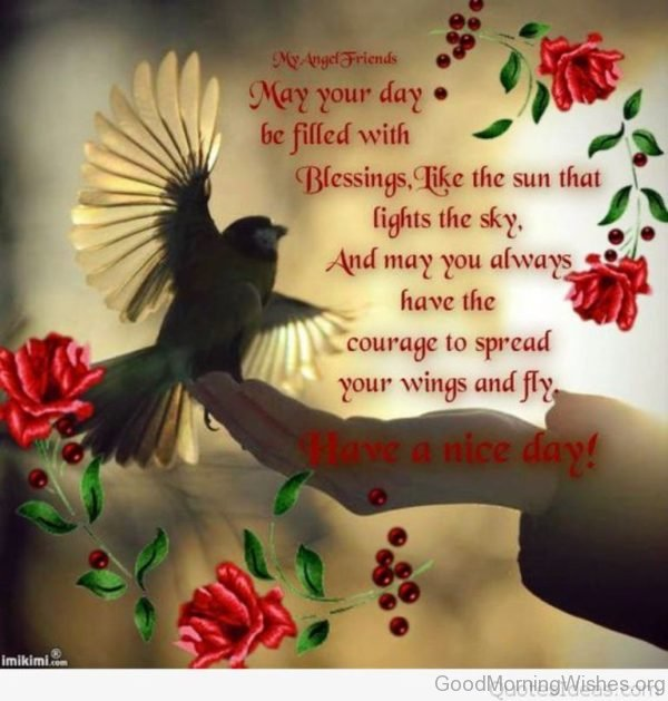 May Your Day Be Filled With Blessing Like The Sun That Light The Sky