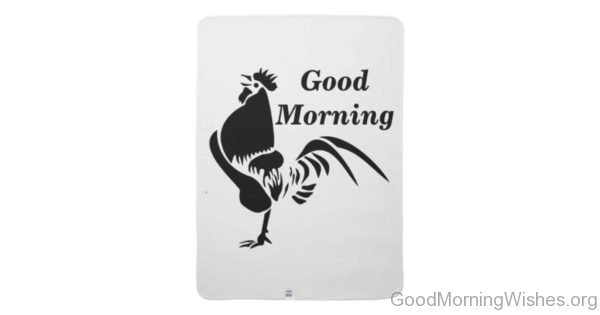 Nice Pic Of Good Morning Rooster