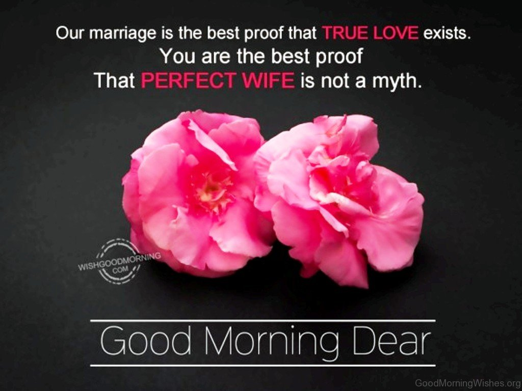 Good Morning Love For Wife : Good morning messages for wife