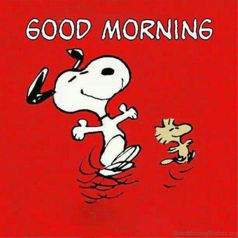 Good Morning Beautiful Brown Ale : Snoopy good morning wishes